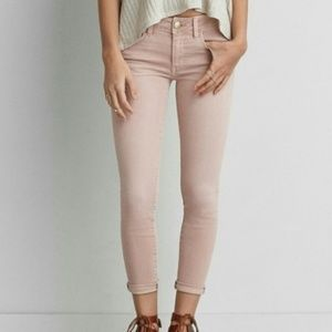 American Eagle Crop Jeggings Size 10